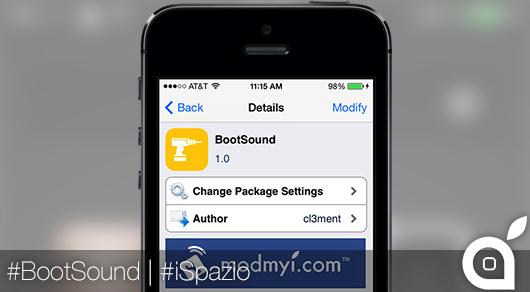 Suono di avvio dell'iPhone come quello del vostro Mac? Possibile grazie a BootSound | Cydia [Video]