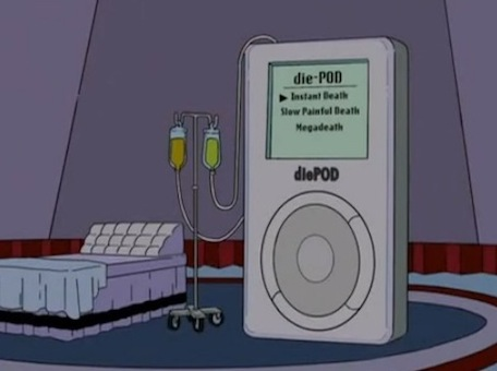 diepod simpsons 1 shot