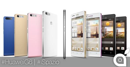 [MWC 2014] iSpazio prova Ascend G6, lo smartphone 4G LTE di Huawei [VIDEO]