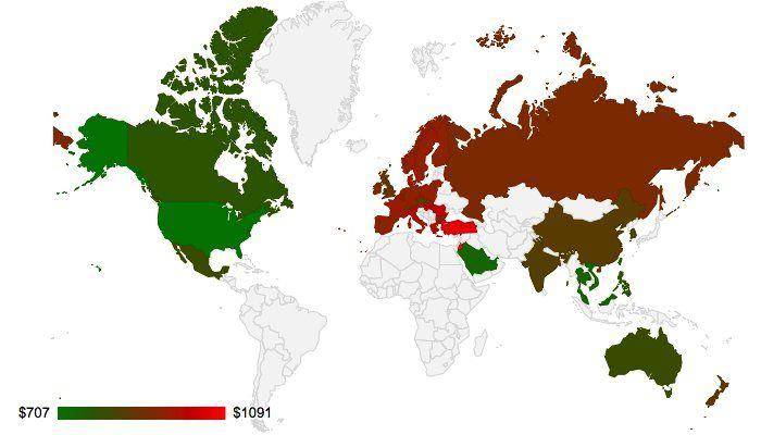 iPhone: l'Italia non è più il paese più caro in cui comprarlo