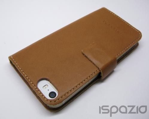 iSpazio prova la sottile e funzionale Custodia Portafoglio Proporta in Pelle Vintage per iPhone 5/5S