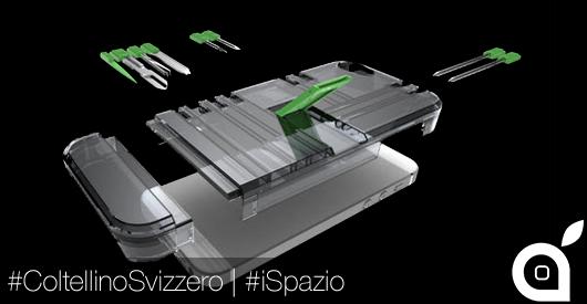 iSpazio prova IN1, la custodia 'coltellino svizzero' per iPhone 5 e 5S che avrebbe desiderato MacGyver
