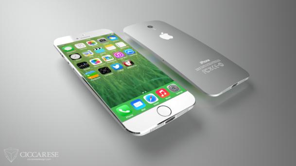 Ecco l'iPhone 6 senza cornici laterali e con scocca posteriore ricurva | Concept