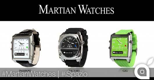 [MWC 2014] MartianWatches: quando l'eleganza si unisce alla tecnologia
