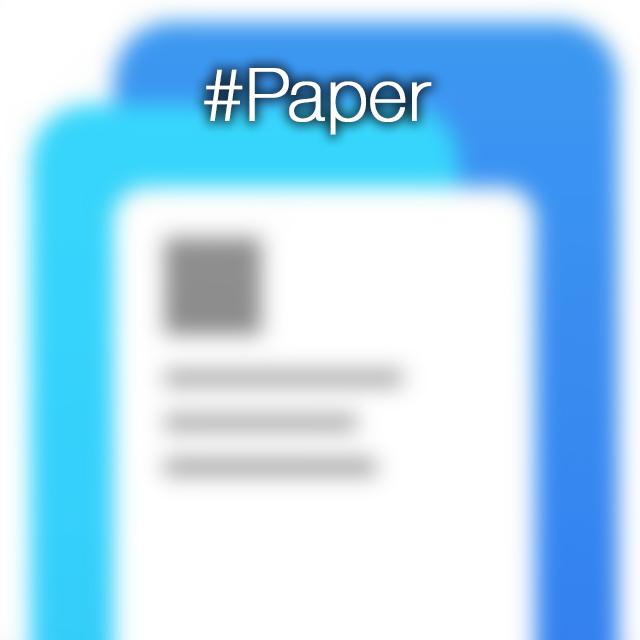 paper facebook