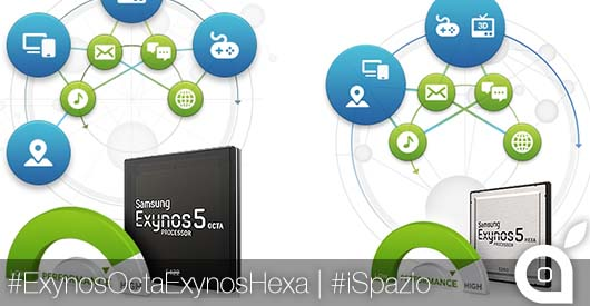 [MWC 2014] Samsung annuncia i suoi nuovi processori: Exynos 5422 Octa e Exynos 5260 Hexa