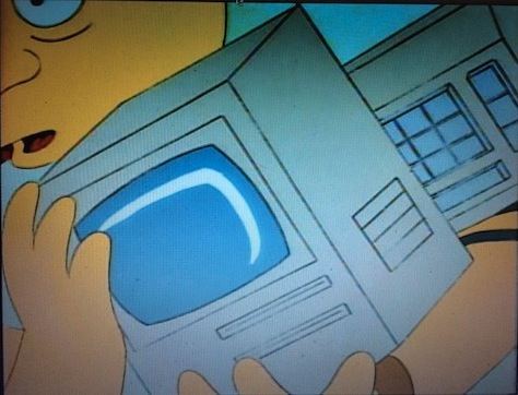 simpsons mac se homer defined