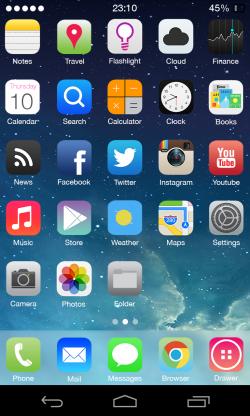 Apple fa rimuovere il tema iOS per Android dal Google Play Store