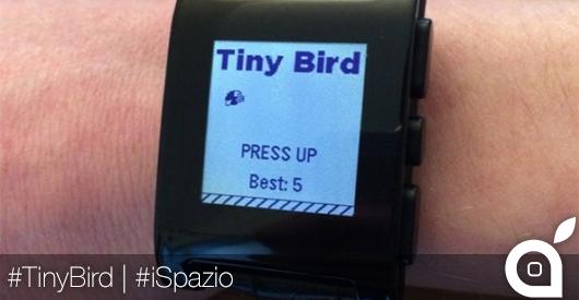 Flappy Bird scompare dall'App Store ma arriva sul Pebble Watch