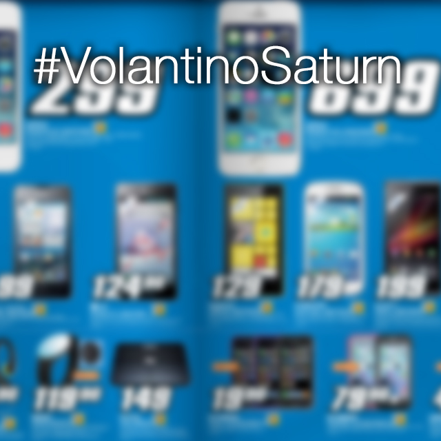 Volantino Saturn: iPhone 5S e iPhone 4S in offerta speciale!