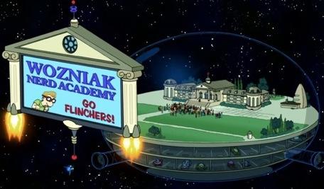 wozniak nerd academy futurama