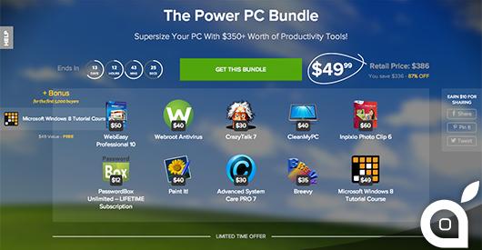 Bundle: 10 applicazioni per PC in offerta limitata scontate dell'87%