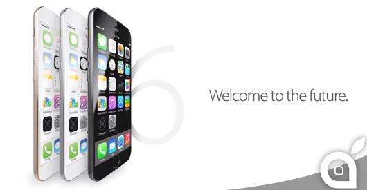 Un nuovo Concept mostra l'iPhone 6 con schermo curvo in zaffiro