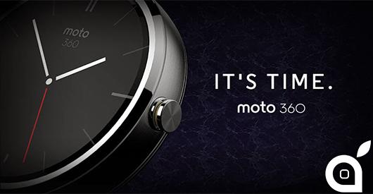 IFA 2014: Motorola avvia la vendita del Moto 360! [Video]