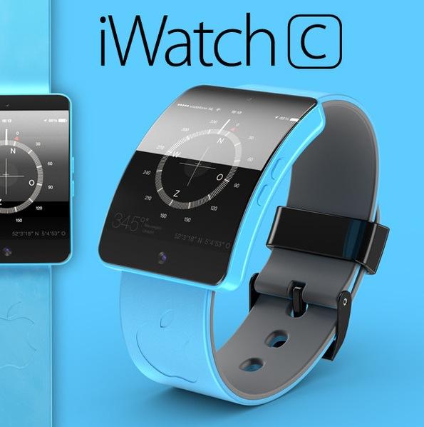 """iWatch C: il concept dell'orologio Apple in versione """"Color"""""""