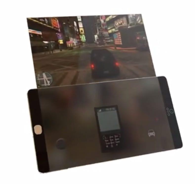 iPhone 6: doppio display 4K, sfondo trasparente, scocca colorata e modalità auto-caricamento   Concept [VIDEO]