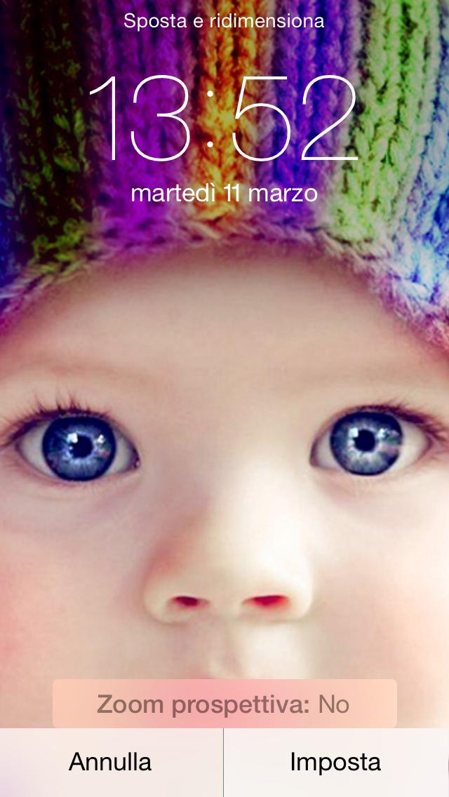 Come avere una migliore resa degli Sfondi su iOS 7.1