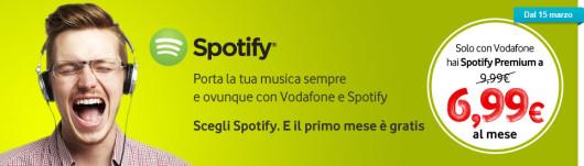 vodafone ispazio spotify