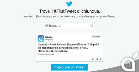 iSpazio Tweet