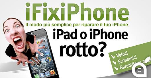 iFix-iPhone.com, il modo più semplice per riparare il vostro iPhone o iPad rotto e fuori garanzia