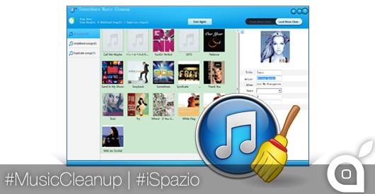 Come Riordinare la propria Libreria iTunes eliminando i duplicati, con Tenorshare Music Cleanup