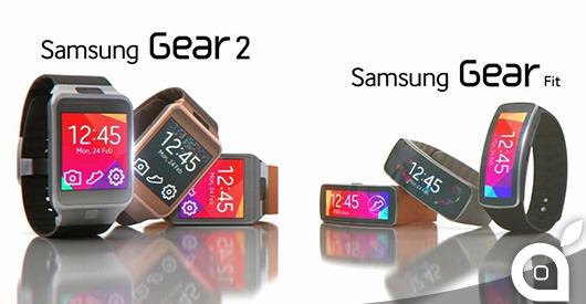 samsung gear 2 e gear fit prezzi