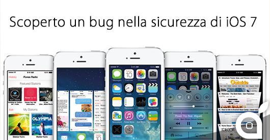 sicurezza ios 7 bug