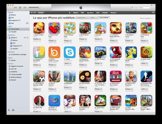 Giochi gratis app