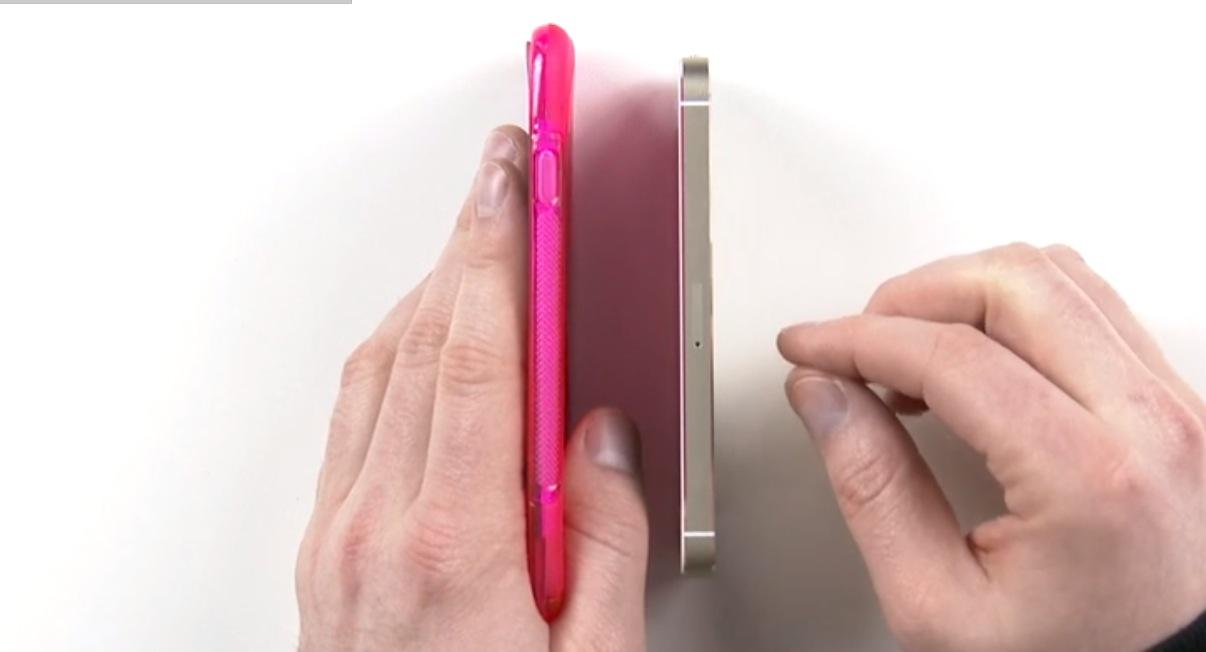 Un video compara il presunto iPhone 6 con iPhone 5S, Nexus 5 e Galaxy Note 3