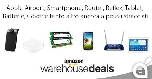 Centinaia di prodotti elettronici a prezzi stracciati con le offerte Amazon Warehouse Deals a tempo limitato