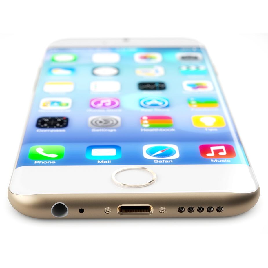 iPhone 6: Eccolo in un meraviglioso Concept con bordi arrotondati e Display curvo!