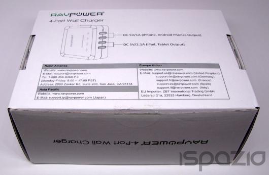 iSpazio-MR-RAVPower-caricatore USB-1