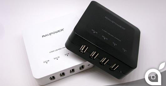 iSpazio-MR-RAVPower-caricatore USB-home
