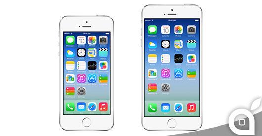 Un nuovo video comparativo sui mockup di iPhone 6 da 5.5 e 4.7 pollici [Video]
