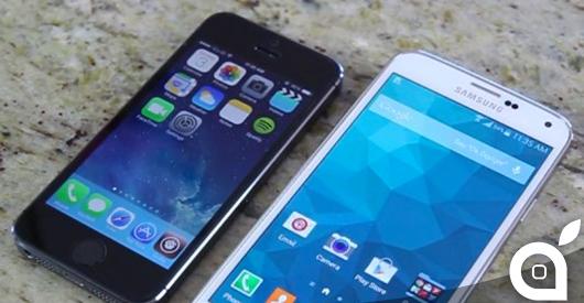 iphone 5s galaxy s5