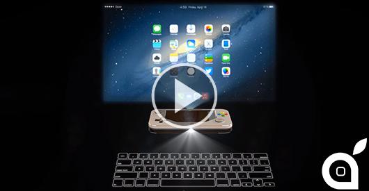 iPhone 6 Pro: Ecco come viene immaginato il un futuristico smartphone Apple [Video]