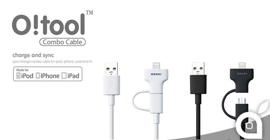 Ozaki O!Tool Combo Cable 2in1: micro-USB + Lighting certificato Apple, provato da iSpazio