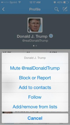 Twitter-mute-Donald-Trump