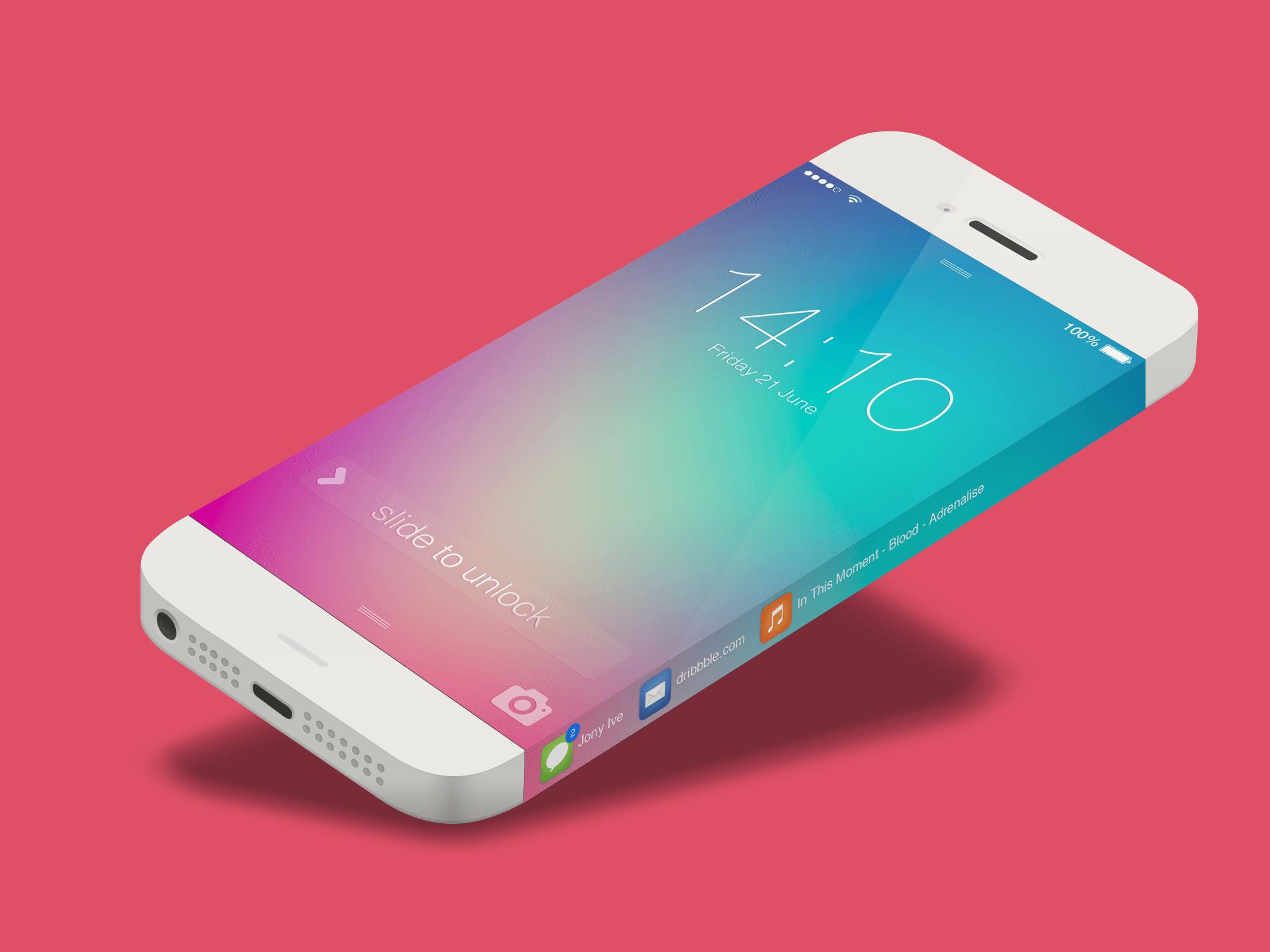 Apple brevetta l'iPhone con Display Touchscreen sui bordi