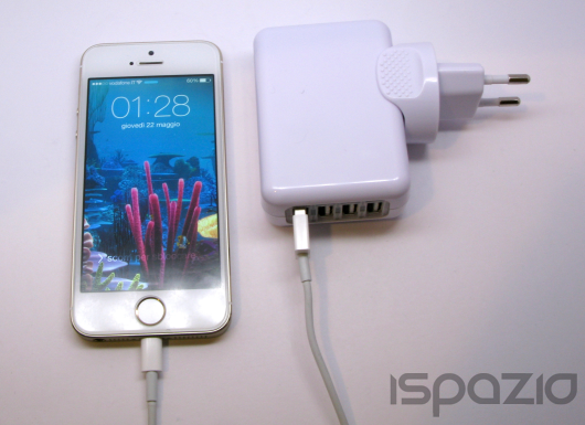 iSpazio sconta il caricatore da viaggio dodocool: 4 porte USB per ricaricare tutti i dispositivi anche all'estero – La Recensione di iSpazio