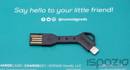 iSpazio prova ChargeKey e ChargeCard, i pratici cavetti Lightning a forma di chiave e carta di credito