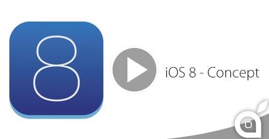 iOS 8 mostrato in un nuovo Video Concept