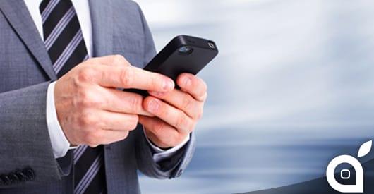 iOS è sempre più utilizzato nelle aziende ed arriva a raggiungere il 72% di utilizzo