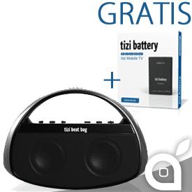 Equinux ed iSpazio ti regalano una seconda batteria omaggio con tizi beat bag