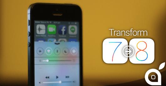Ecco un elenco di tweak e app che trasformano iOS 7 in iOS 8