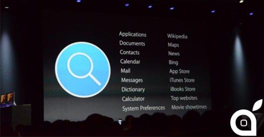 OS X Yosemite: presentato il nuovo Spotlight
