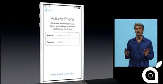I furti di iPhone sono calati drasticamente con la funzione Activation Lock di iOS 7
