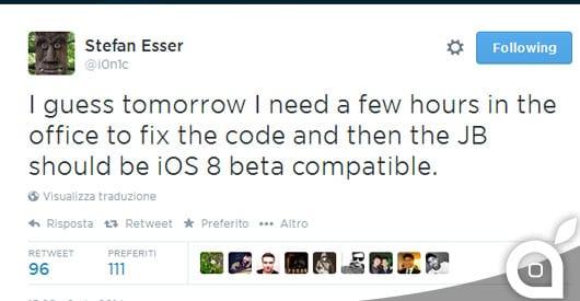 iOS 8 Beta & jailbreak: secondo I0n1c è già possibile