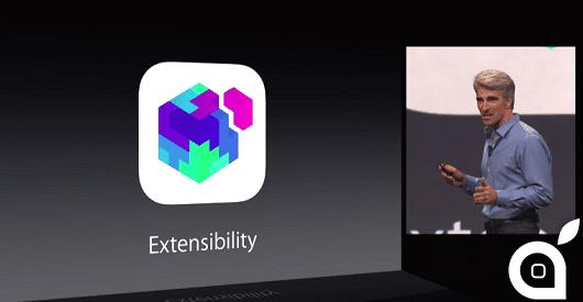 iOS 8: Ecco come funzionano le estensioni delle applicazioni