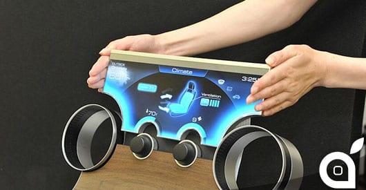 Sharp presenta la tecnologia Free-Form Display che abbatte i confini dei classici design